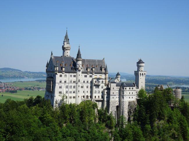 2019.7 スイス・ドイツの旅⑥ ミュンヘン、ノイシュバンシュタイン城、ヴィース教会♪
