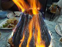 Bangkokプチtrip 燃えるエビ