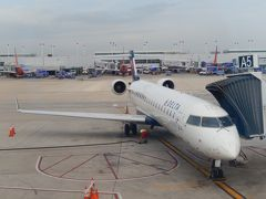 DL デトロイト⇒シカゴ(B717) 、シカゴ⇒ミネアポリス(CRJ700)エコノミーコンフォート 搭乗記
