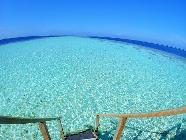 旅行会社のパンフレットを持ち帰り、行けない理由を夫婦で語り合ってきた25年越しのモルディブへ。<br /><br />アリ環礁にあるヴィラメンドゥ アイランド リゾート&amp;スパ(以下ヴィラメンドゥ)に絞って、ご紹介いたしますネ。<br /><br />海中写真が70%を占めますが、他の箇所は、目次から選んで、サラサラと覗いていただけますと幸いデス。<br />【目次】<br />#1.ヴィラメンドゥの魅力~5大ポイント~ 1枚<br />#2.地図(アクセス)          1枚<br />#3.シュノーケリング最新情報<br /> (ガイドmap付)          28枚<br />#4.島内スナップ            4枚<br />#5.食事が美味しい           6枚<br />#6.水上コテージの魅力         2枚<br />#7.結婚式が素敵            1枚<br />#8.編集後記              1枚<br />◆ヴィラメンドゥの案内動画<br />◆おまけ モルディブにご興味ある皆さまへ