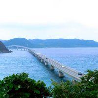 スターフライヤーで行く☆エメラルドグリーンの海にかかる角島大橋・角島灯台