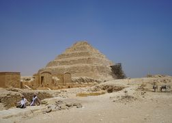 2019.8 エジプト8日間【3】世界遺産・メンフィスとその墓地遺跡(2)サッカラの階段ピラミッド