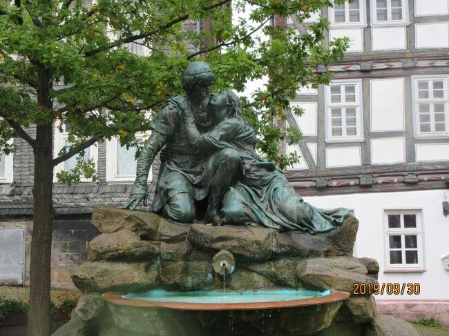 darumの好きな伝説:③ヘッセン州シュパンゲンベルグの村に残るクノーとエルゼの相思相愛の伝説