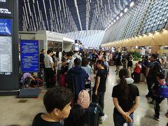 上海空港、中国東方航空の台風による欠航後の対応