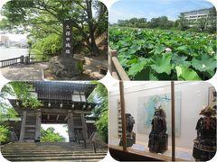 真夏の東北三県巡り(10)千秋公園・久保田城跡(秋田)