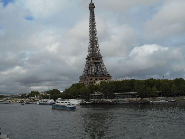 2019年08月 パリ旅行3 パリ市内観光 後半