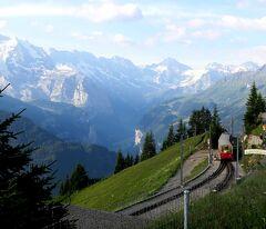 団塊夫婦の2019年アルプス絶景ドライブ&ハイキングー(10)スイスアルプスを歩く(その3:シーニゲプラッテ)