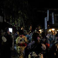 ☆日本の祭り☆水のせせらぎ、下駄の音、浴衣の郡上おどり