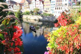 かわいい村巡り☆初秋のドイツ・黒い森とフランス・アルザス、木組みの家を求めて 5日目 その2 テュービンゲン