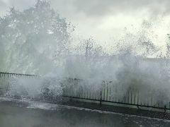 台風の影響!?