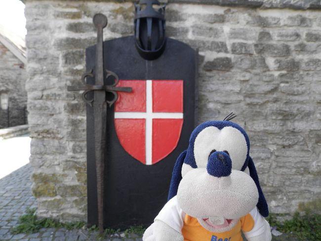 グーちゃん、エストニアへ行く!(タリン/トーンペア城のレスラー達・・・。編)