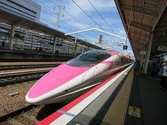姫路で新幹線を撮る+灘菊+白鷺ではなく白鳥城!