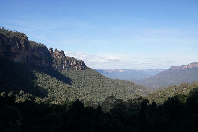 【オーストラリア】シドニーとエアーズロック~②ブルーマウンテンズ国立公園