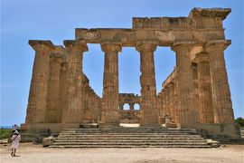 魅惑のシチリア×プーリア♪ Vol.179 ☆セリヌンテ:古代ギリシア遺跡 E神殿♪