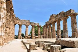 魅惑のシチリア×プーリア♪ Vol.181 ☆セリヌンテ:古代ギリシア遺跡 E神殿内を優雅に歩く♪