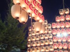 青森ねぶた祭&秋田竿燈祭【2日目竿燈祭と3日目平泉】