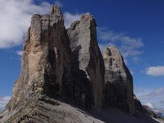 スイス・イタリア ドライブ & ハイキング 満喫の旅(②3日目午前 トレチメ・ディ・ラヴァレード)