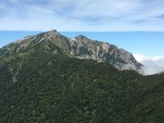 日本百名山遠征 扇沢から鹿島槍ヶ岳ピストン