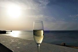 魅惑のシチリア×プーリア♪ Vol.200 ☆トラーパニ:ホテル「ラ・ガンチア」屋上で優雅なアペリティーヴォ♪