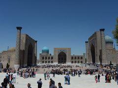 ウズベキスタン8日間の旅(5)サマルカンド観光後、タシケントへ