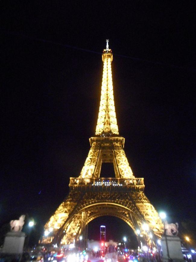 2019年08月 パリ旅行5 市内ナイトツアー