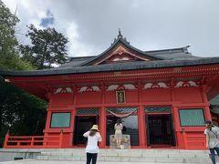 赤城神社(大洞赤城神社)参拝とルートイン熊谷宿泊記