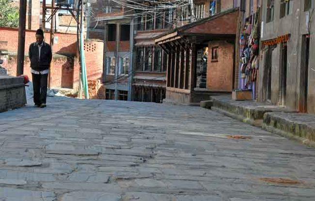 長かったトレッキングを終え、帰路につきました。<br />最終日はカトマンズでは【穴場】の散策に行きました。<br />10回以上は訪れている私でもここは初めてです。<br /><br />ネパール側からのカンチェンジュンガが観たくて頑張ってみました。<br />以前、インド側からのカンチェンジュンガを観たのですが、いまひとつ迫力に欠けていたような気分・・・。<br />さらには怪峰ジャヌーが拝める・・・<br />チャレンジしました。<br />とんでもない光景に・・・(恐らく世界的にも珍しい画像では・・)<br /><br />主な日程は 2017年10月17日~11月7日<br /><br />17日 成田-ソウル-カトマンズ<br />18日 カトマンズ-バドゥラプール-イラム<br />19日 イラム-スケタール-ラリー・カルカ<br />20日 ラリー・カルカ-カーレ・バンジャン<br />21日 カーレ・バンジャン-ママンケ<br />22日 ママンケ-ヤンプーディン<br />23日 ヤンプーディン(高度順応)<br />24日 ヤンプーディンートロンタン<br />25日 トロンタン-ツェラム<br />26日 ツェラム-ミルギンラ-ヤルン-ラムゼ<br />27日 ラムゼ滞在 (オクタンB.C.へ)<br />28日 ラムゼ-ツェムラ<br />29日 ツェムラ-ジョルポカリ-ミルギン・ラ手前(ミルギン・ラ往復)<br />30日 ミルギン・ラ手前-ミルギン・ラ-グンサ<br />31日 グンサ-タンゲム<br />1日 タンゲム-アムジラッサ-セカトム<br />2日 セカトム-<br />6日 カトマンズ-ソウル<br />7日 ソウル-成田