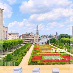 水辺の美しい景色を求めてオランダ&ベルギーへ <16> 旅の最後の訪問地ブリュッセル♪