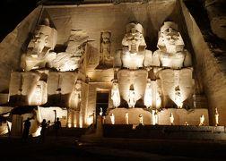 2019.8 エジプト8日間【6】アブ・シンベル神殿(1)音と光のショー