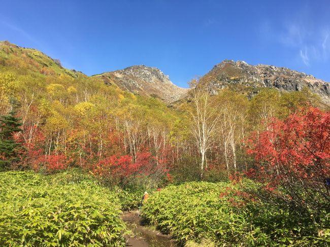 10月の3連休・・やっぱり日本百名山の旅へ。<br />今回の登山のご褒美は「中の湯温泉旅館」<br />たまには、旅館でまったりバージョンの百名山遠征です。
