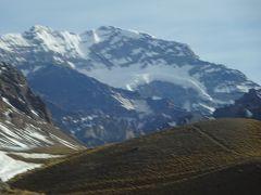 (42)2019年8月南米5か国(6)アルゼンチン(メンドーサ)よりアンデス山脈超24時間バスの旅アコンカグアを見る