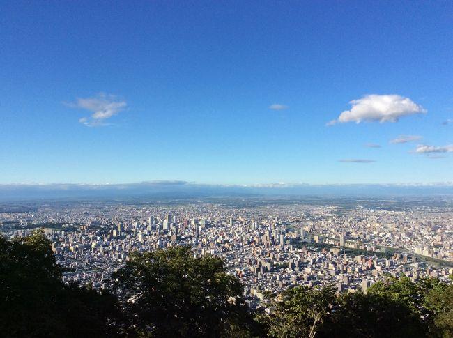 北海道の思い出に札幌市街を眺める藻岩山に登りました♪<br />今回は車で中間駅まで登って、中間駅からはケーブルカーに乗りましたが、<br />ロープウェイで中間駅まで行ってケーブルカーで頂上まで行くこともできます。<br />札幌の夜景は、3本の指に入ると言われていますが、本当にキレイです♪<br /><br />当別町のスウェーデンヒルに立ち寄り、<br />北海道博物館、豊平川さけ科学館を見ました♪<br /><br />今回の旅で走行距離は、2000kmになりました(o^^o)<br />よく走りましたよね♪<br /><br />北海道の旅 2019夏♪ 道東 <br />北海道の旅 2019夏♪ 道央<br />も、見ていただけたら嬉しいです。<br />よろしくお願いします♪<br />