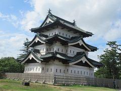 真夏の東北三県巡り(16)弘前城(後)天守に登る、そして亀甲門へ