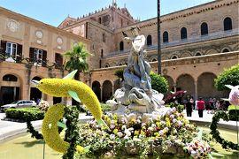 魅惑のシチリア×プーリア♪ Vol.241 ☆モンレアーレ:大聖堂前の広場はなぜかドルフィン♪