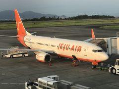 新宿から富士山静岡空港経由で仁川・ソウルまで...【その1】7C1281便(FSZ→ICN)搭乗記