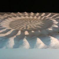 アマミホシゾラフグが作る『ミステリーサークル』模型ですが