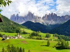 スイス・イタリア ドライブ & ハイキング 満喫の旅(③3日目午後 マッダレーナ村)