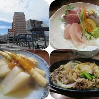 真夏の東北三県巡り(18)弘前のホテルと津軽居酒屋わいわいのうまいもん