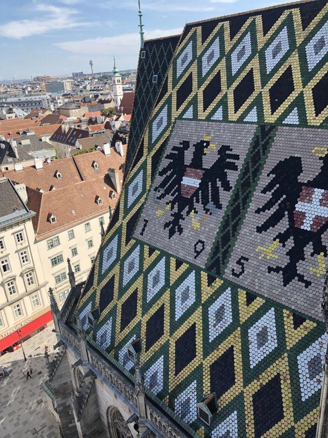 ⑤2019夏旅はじめてのプラハ、ウィーン、チェスキークルムロフ個人手配旅。