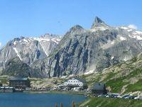 団塊夫婦の2019年アルプス絶景ドライブ&ハイキングー(15)グランサンベルナール&プチサンベルナール峠を越えてイタリア&フランスへ