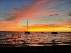 2019年サマーバケーションは9度目のハワイ島+初のマウイ島10日間(*^-^*)2日目Part4~アナエホマル(A)ベイのサンセット!!