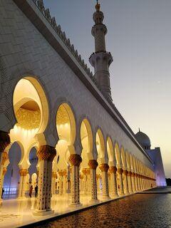 2019年エジプト旅+マカオ+アブダビ 23 昼と夜のシェイク・ザイード・モスク