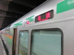 青春18きっぷ温泉旅(6)長距離鈍行グリーン車旅(後)黒磯到着編