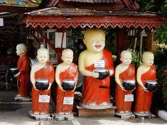 泰緬鉄道の旅を終えて古都チェンマイへ/レンタルバイクで寺院巡り⑤/ワット・パンタオとワット・チェーディールアンへ
