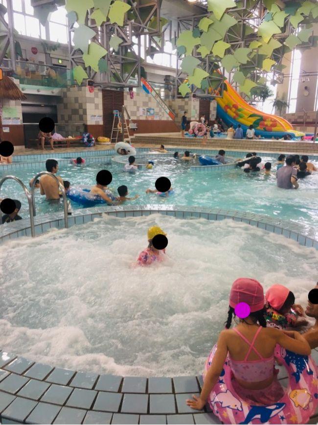 日光に夏季限定のレジャープールがあるらしいと聞き、日帰りで行ってみました。<br /><br />・東京からけっこうな距離・・・を感じさせない快適な移動<br />・屋内なので天気の悪い日でも大丈夫<br />・空いてるので場所取りなどの必要がない<br />・乳児、幼児、小学生くらいまで1日楽しめる<br /><br />なかなか良いでしょう?<br /><br />一方イマイチな点は<br />・交通費がかかる(母子で8400円かかりました)<br />・食事処が1か所しかなくすごく並ぶ<br /><br />特に昼食はまいりました。<br />もっとも他の家は大人複数で来てるから交代で並べばよいですが、<br />我が家みたくマンツーだと連携プレイができず詰みます。。<br /><br />まあ、これも経験だし、娘が楽しんでいたので総合的によかったです^^