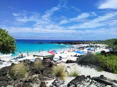 2019年サマーバケーションは9度目のハワイ島+初のマウイ島10日間(*^-^*)3日目Part1~朝一番のクア・ベイを泳ぐ!!
