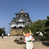 マリオットプラチナチャレンジ9泊目は琵琶湖へGo〜!�国宝彦根城
