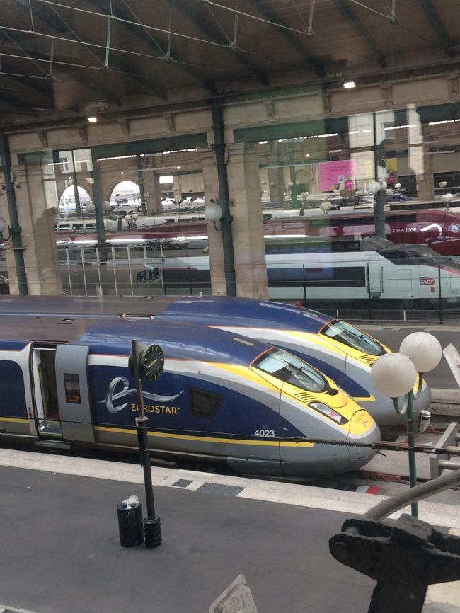 西ヨーロッパひとり旅② ユーロスターでパリからロンドンへ