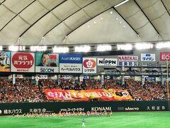 巨人ー横浜観戦と高円寺阿波踊りを見に。