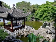 何園(国家AAAA級旅遊景区)は水上のステージとそれを取り囲む回廊で構成されていた♪2019年6月中国 揚州・鎮江7泊8日(個人旅行)69